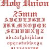 Holy Union esa font icon