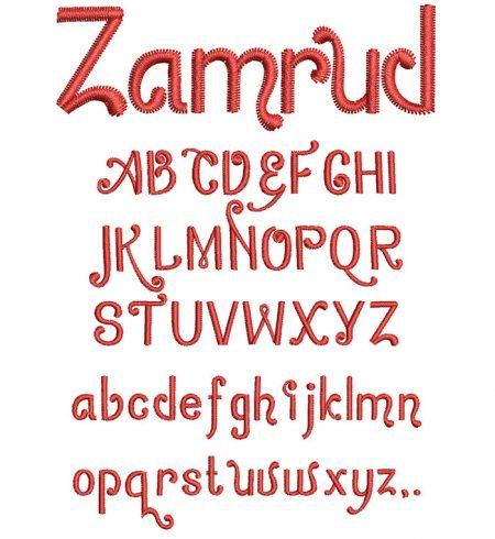 Zamrud esa font icon
