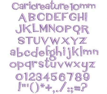 Caricreature esa font icon
