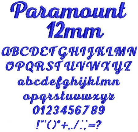 Paramount esa font icon