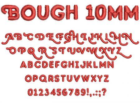 Bough 10mm Font