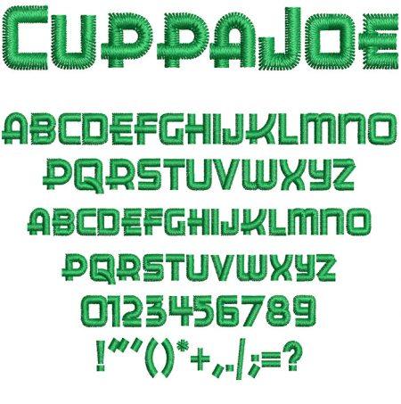 Cuppa Joe Font
