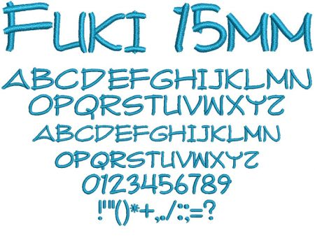 Fuki 15mm Font
