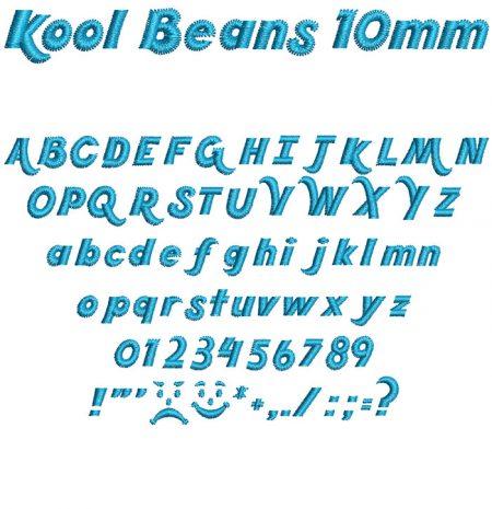 Kool Beans 10mm Font