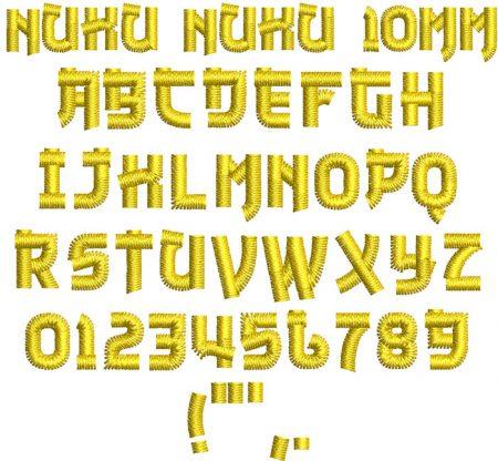 NuKu NuKu 10mm Font