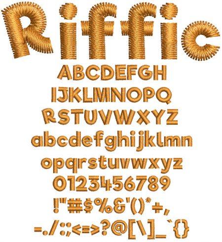 Riffic Font