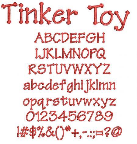 Tinker Toy Font