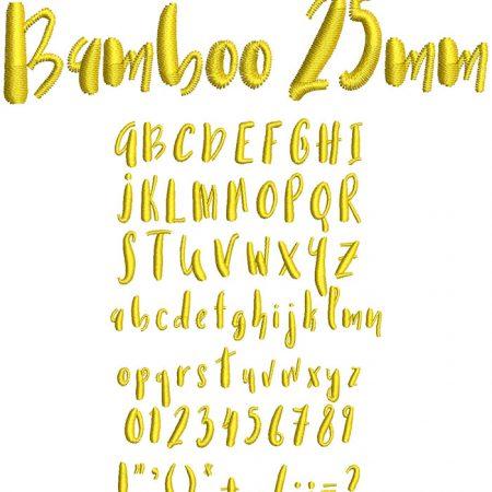 Bamboo esa font icon