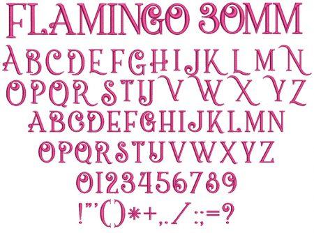 Flamingo esa font icon