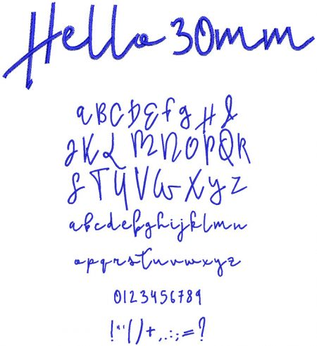 Hello esa font icon
