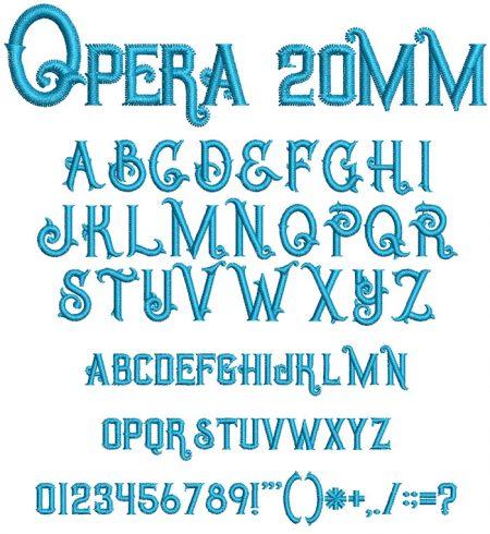 Opera esa font icon