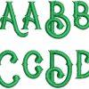 Rocket esa font letters icon