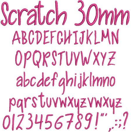 Scratch esa font icon