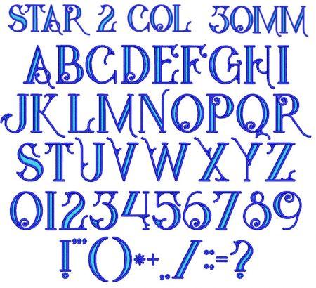 Star 2 Color esa font icon