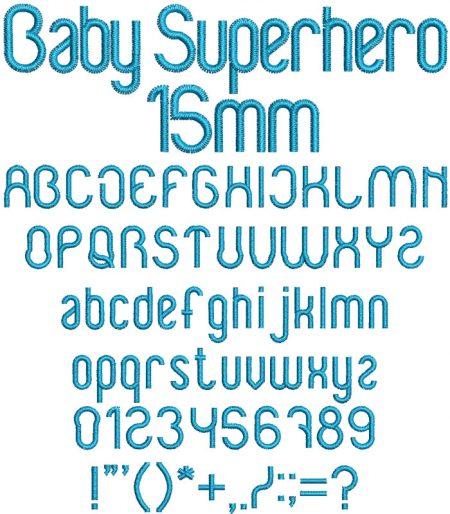 BabySuperhero15mm