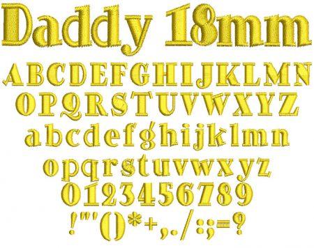 Daddy esa font icon