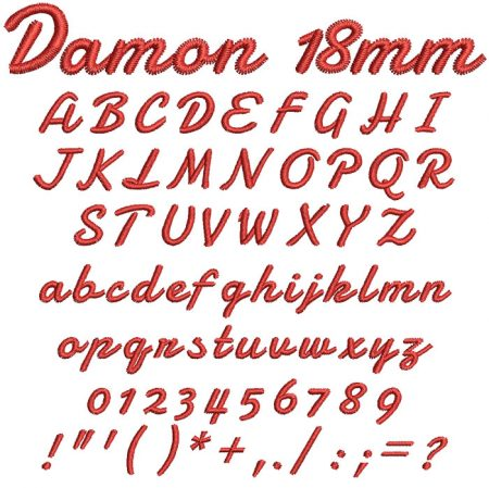 Damon esa font icon