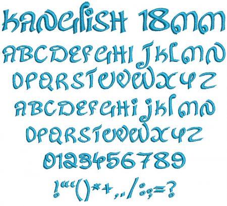Kanglish esa font icon