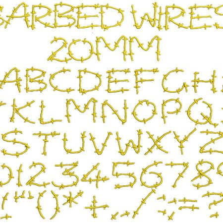 Barbed Wires esa font icon