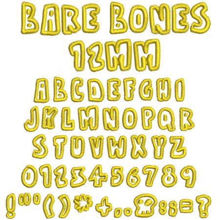 Bare Bones esa font icon