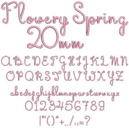 FlowerySpring20mm