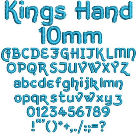 Kings Head esa font icon