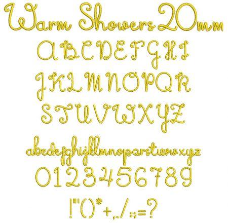 Warm Showers esa font icon