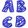 Chalk Dash esa font letter icon