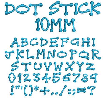 Dot Stick esa font icon