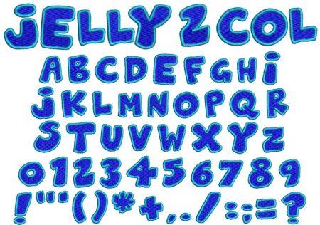 Jelly 2 color esa font icon