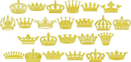 Crown elements icon