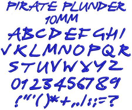 Pirate Plunder esa font icon