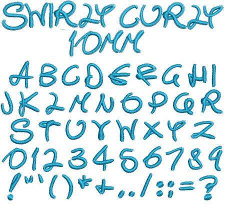 SwirlyCurly10mm