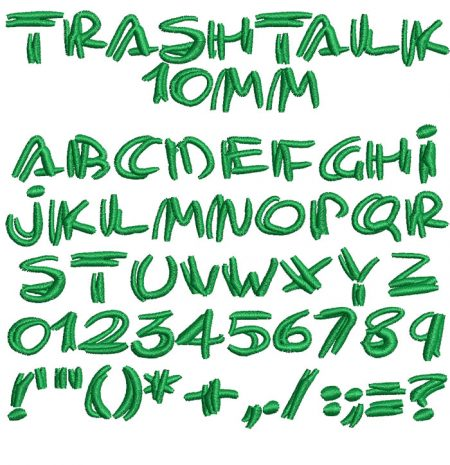 Trashtalk esa font icon