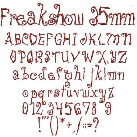 Freakshow esa font icon