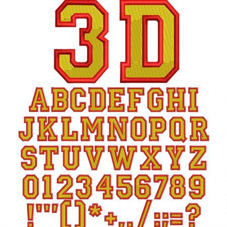 3D college fill esa fon icon