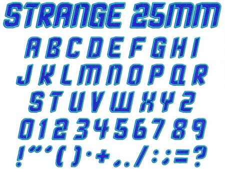 strange 2 color esa font icon