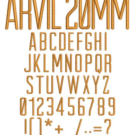Arvil esa font icon