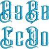 Barak esa font letters icon