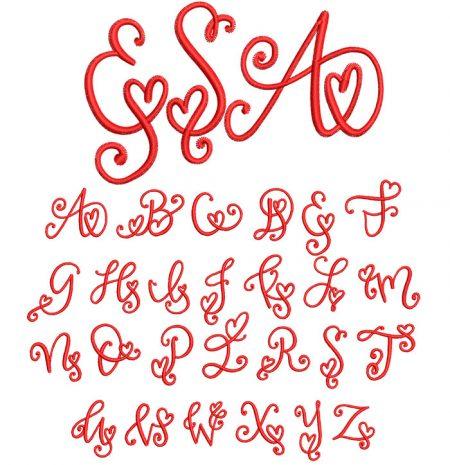 Crafty Heart Mono esa font icon