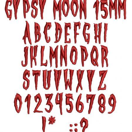 Gypsy Moon15mm
