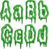 Swamp Applique esa font letters icon