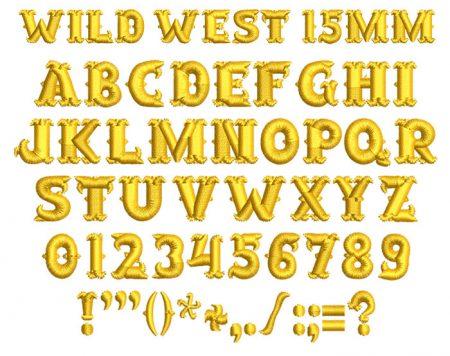 wild west esa font icon