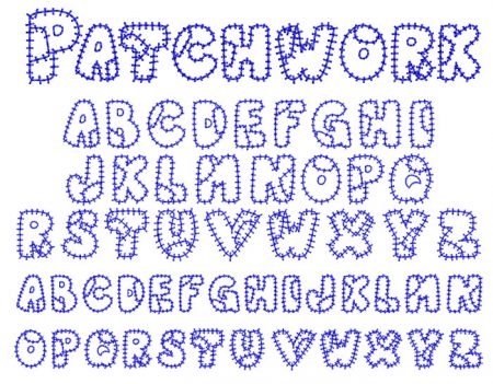 Patchwork esa font icon