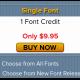 Single Font Bundle