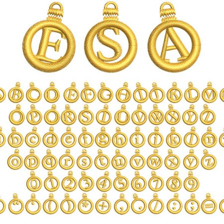 Ornament Applique esa font icon