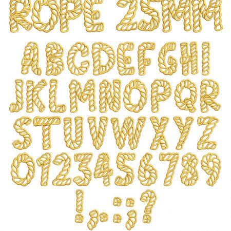 Rope esa font icon