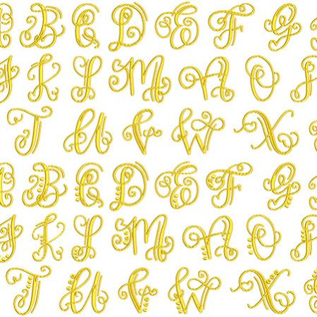 Crafty Monogram flexi font icon