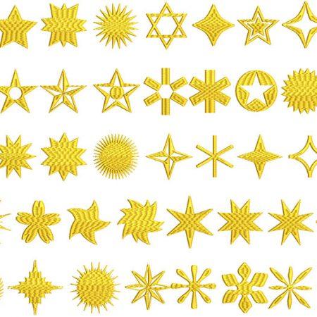 Star Shapes flexi fills icon