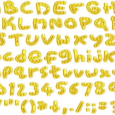 ESA Embroidery Fonts for Wilcom, Hatch & Janome V5 Software